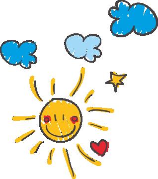 Kreslené slniečko
