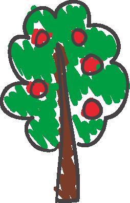 Kreslený stromček