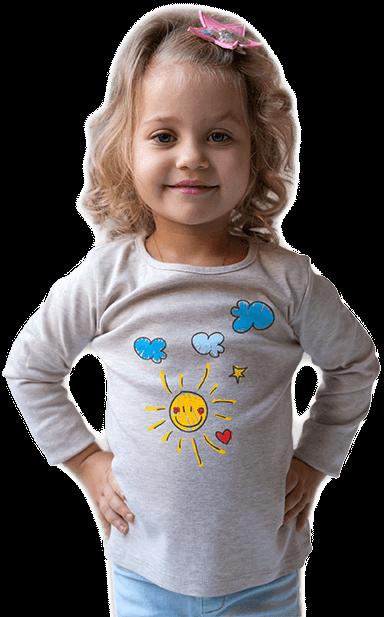 Detské tričko s vlastnou potlačou